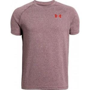 Under Armour Kids Training T Shirt Tech Short Sleeve Tee Junior Sports Crew Top