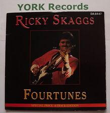 "Ricky Skaggs-fourtunes EP-excellent état double 7"" SINGLE EPIC da 6447"