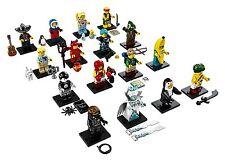 LEGO 71013 Minifigures Serie 16 - Komplettsatz mit allen 16 Minifiguren NEU CMF