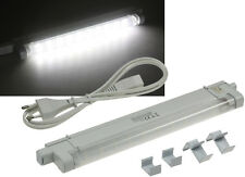 SMD LED Unterbauleuchte 27cm Küchenlampe Lichtleiste Lichtfarbe weiß 20020