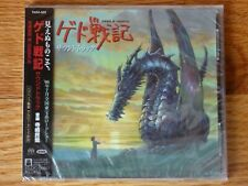 New Tales From Earthsea CD Anime Original Soundtrack OST 21T OBI Studio Ghibli