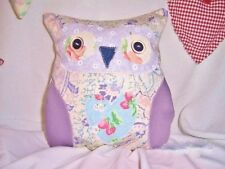 Owl Cushion Craft Kit Cath Kidston Fabric Patchwork Sewing Kit Sewintocrafts!