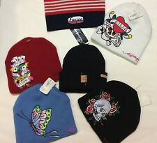 Ed Hardy Beanies Scull Cap All 4
