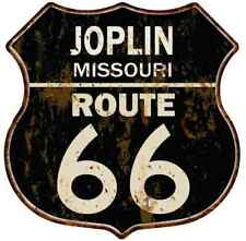 Joplin, Missouri Route 66 Shield Metal Sign Man Cave Garage 211110014133