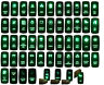 12V~24V Green Led Car /Boat/ARB/CARLING SPST DPDT Rocker Switch Waterproof