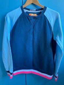Girls St Bert's navy sweatshirt - medium (about 12 to 14 yr old)