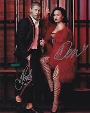 Demi Lovato and Nick Jonas In-Person AUTHENTIC Autographed Photo COA SHA #95630