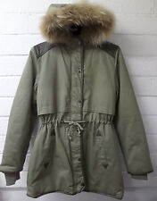 Women Ladies New Long Winter Thick Warm Padded FurHood Puff Parka/Coat/Jacket232