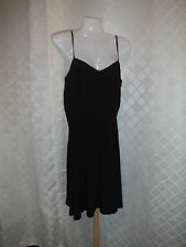 Black Sleeveless Dress Gap size 10 100% rayon- viscose NWT