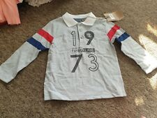NEW Timberland grey rugby shirt age 3 years