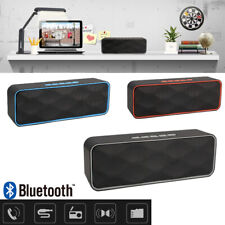 Portable Wireless Bluetooth Speaker HIFI Super Bass Loud Stereo Sound case US