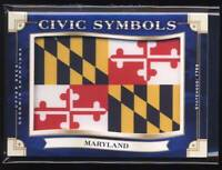 2019 Upper Deck Goodwin Champions Civic Symbols Patches #USF7 Maryland T1 BX2