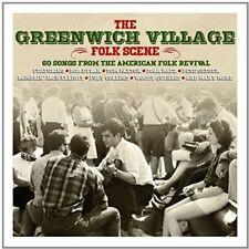 Greenwich Village Folk 3 CD NUOVO Bob Dylan/Pete Seeger/Joan Baez/Doc Watson