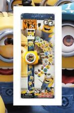24 Image Despicable Me 3 Minions Projector Projection Light Wrist Watch Toy 2