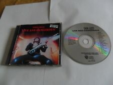 Thin Lizzy - Live and Dangerous (CD) USA Pressing