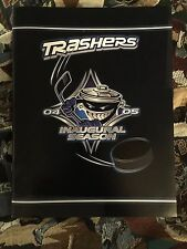 United Hockey League Danbury Trashers Inaugural Season Yearbook