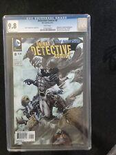 DETECTIVE COMICS # 8 / The new 52! / CGC 9.8 / BATMAN / June 2012 / DC COMICS