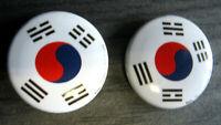SET á 2 St. Anstecker Pin Korea Südkorea TAEKWONDO TKD