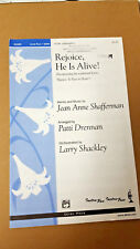 Lot of 10 Rejoice, He is Alive! 2003 Drennan Shackley SATB Choral Octavo