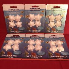 6 x Vacation Weekend Holiday Fish Food Blocks For Tropical Or Coldwater 3-4 Days