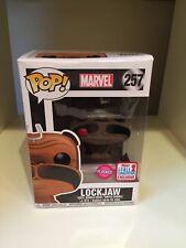 Lockjaw Flocado NYCC 2017 caída comvention Exclusivo Marvel inhumanos! Funko Pop
