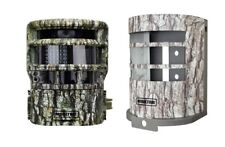 Moultrie P150 8Mp Panoramic Scouting Stealth Trail Cam Camera + Security Box