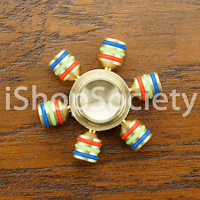 Metal Hex Hand Spinner Figet Spinners EDC Finger Hand Desk Focus Toy ADHD -USA-