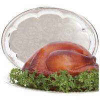 "Sterlingcraft ® Oval Serving Tray Turkey Platter 18"" x 13 1/2"""