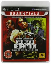PS3 Red Dead Redemption - Game of the Year Essentials Edition NEW & SEALED