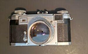 Vintage German Zeiss Ikon Contax II a Camera Germany Mid Century Modern MCM 35MM