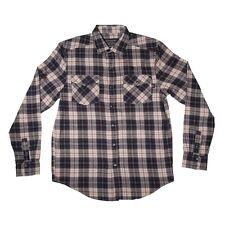 Independent Trucks Rockys Button Up Skateboard Shirt Navy/Red/Tan Medium