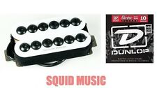 Seymour Duncan SH-8 Invader 6 String Neck Humbucker In White ( 1 SET OF STRINGS)