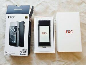 FiiO M7 Portable Hi-Res Bluetooth Lossless Audio Player/FM Radio (Black)