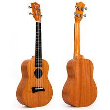 Laminated Mahogany Concert Ukulele 23 inch Hawaii Guitar Aquila Strings Matt
