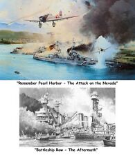 ROBERT TAYLOR Remember Pearl Harbor/Battleship Row Aftermath AP Set & Bonus