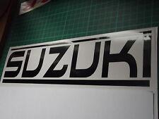 SUZUKI panel skirt car vinyl sticker decal x2