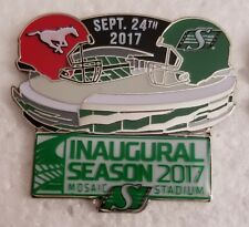 Cfl Saskatchewan Roughriders 2017 Inaugural Season Sept. 24, 3017 Lapel Pin