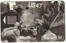 TELECARTE 50° ANNIVERSAIRE DEBARQUEMENT MEDITERRANEE 1994 PORT A PRIX COUTANT