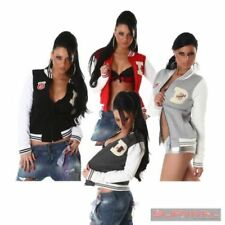 College Polyester Regular Size Coats, Jackets & Vests for Women
