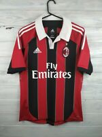 AC Milan jersey small 2012 2013 home shirt X23680 soccer football Adidas