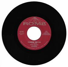 DOO WOP 45 THE EARLS WHOEVER YOU ARE ON ROME VG+