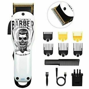 BESTBOMG Professional Barber Series Hair Clipper, Graffiti Cordless Clippers