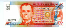Philippines … P-170b … 20 Piso … ND(1986-94) … *UNC*  Replacement note.