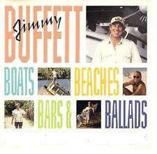 Jimmy Buffett Boats Beaches Bars & Ballads 2-sided Promo Flat 12x12