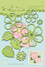 Lea 'bilities Cutting & Embossing Die-Multi Flor 008-Blossom Gratis Reino Unido P&p