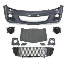 Set Bumper front + Fog Opel Astra H Built 04->> only GTC 3 Door OPC Looks