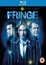 FRINGE - Series 4 Complete 4th Fourth Season - New Sealed UK Blu-ray Collection