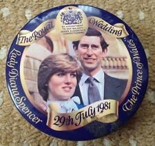 TREBOR SWEET TIN, ROYAL WEDDING, LADY DIANA SPENCER & PRINCE OF WALES - FREEPOST