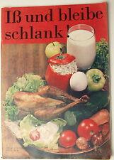Heft Schlank Diät Gesund Ratgeber Rezepte DDR Ostalgie Gerichte GDR Speiseplan