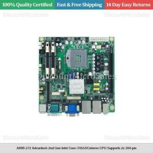 AIMB-272 Advantech 2nd Gen Intel Core i7/i5/i3/Celeron CPU Supports 2x 204-pin